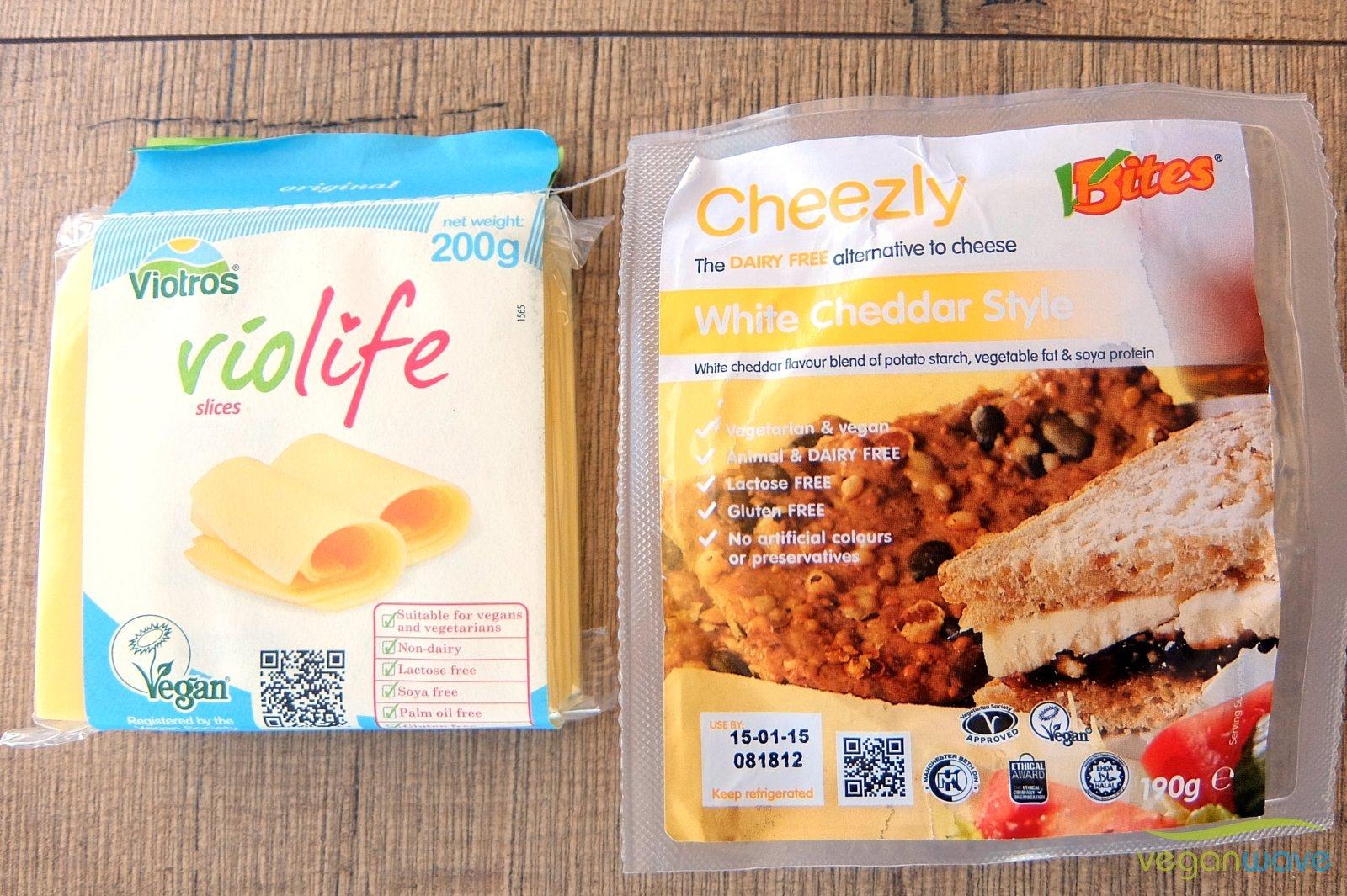 Veganer Käse aus dem Supermarkt