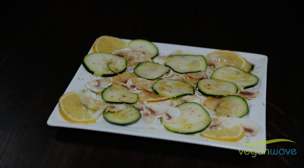 Champignons-Zucchini-Carpaccio