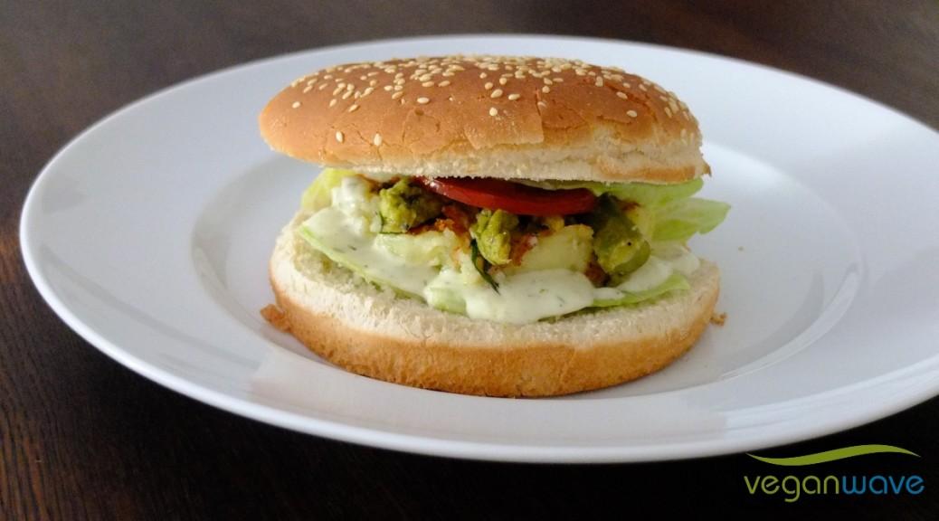 Beschwipster Spargel-Kartoffel-Burger