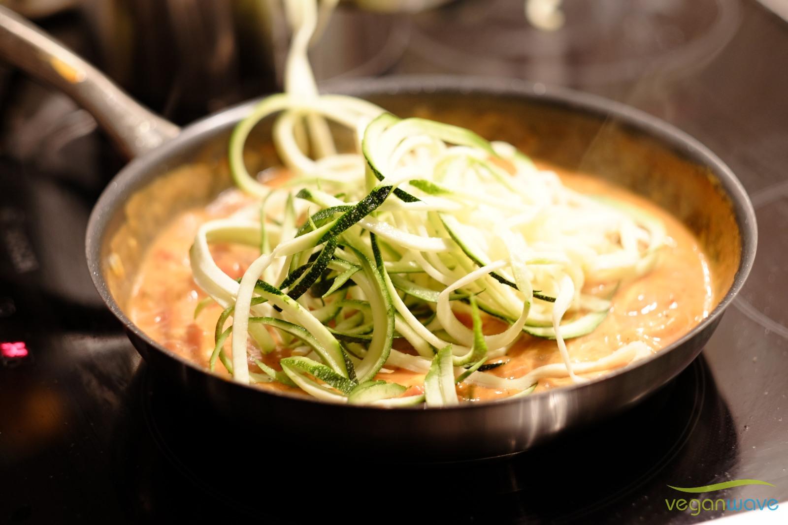 Zucchinispaghetti ganz schnell selbst gemacht