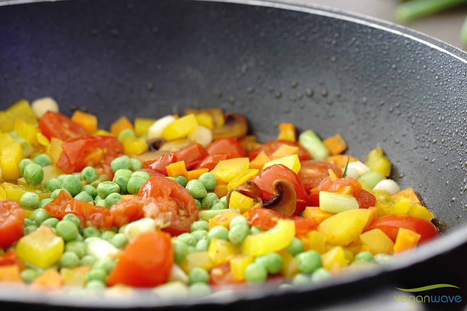 Gemüse sollte noch Biss haben