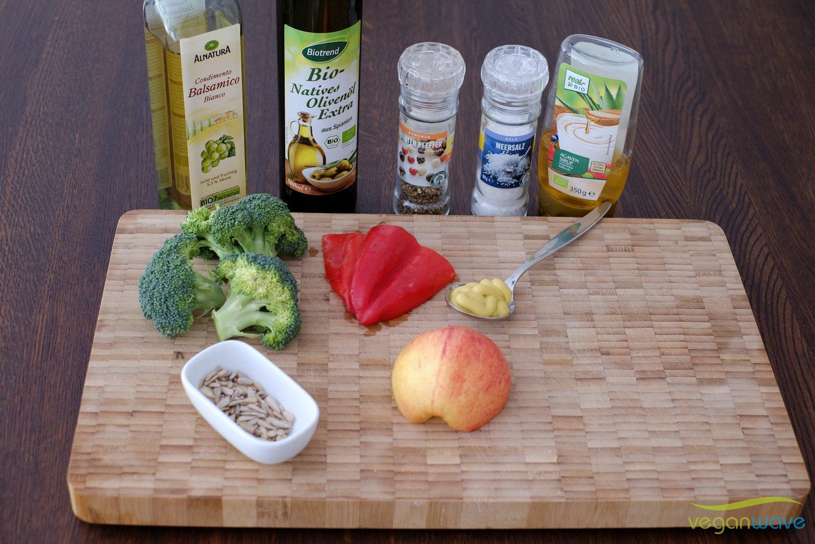 Veganer Broccolisalat