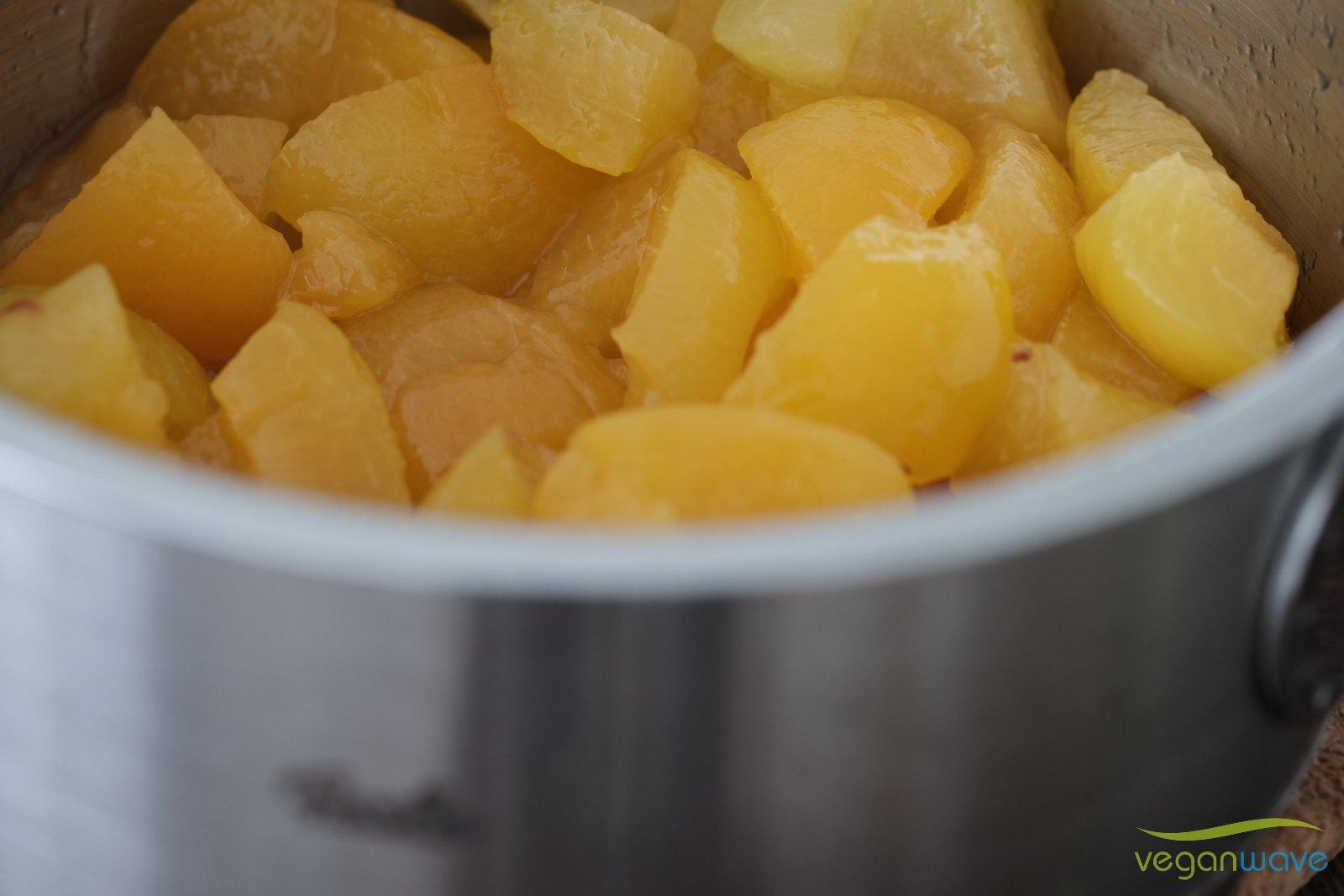 Veganer Aprikosenfladen