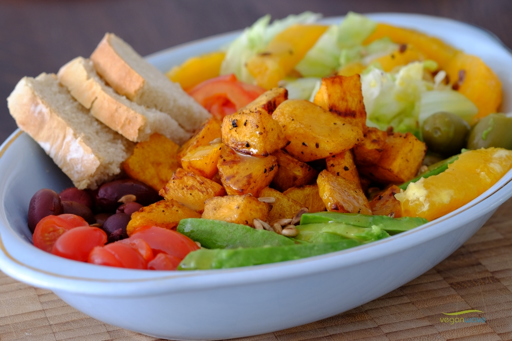Butternut Salat Bowl