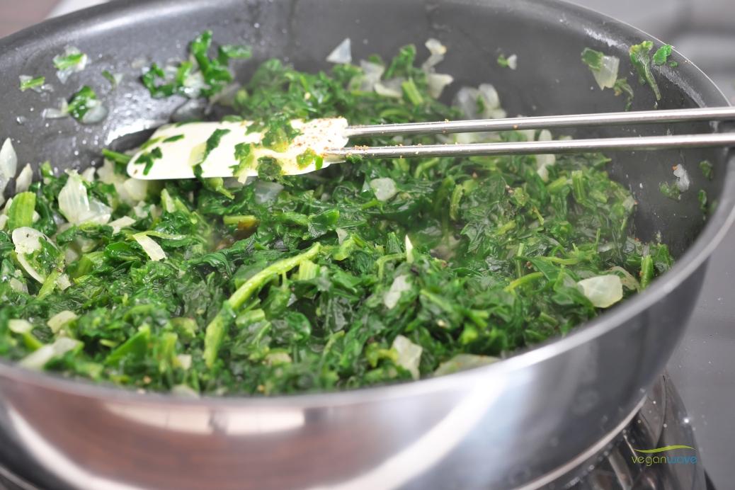 Vegane Spinat Ravioli